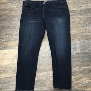 Wit and Wisdom Dark Wash Skinny Leg Jeans